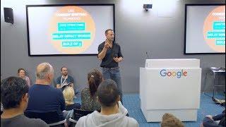 Hacking Public Speaking | David Nihill: Author Talk @Google