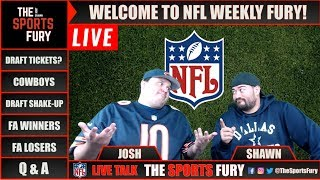 Live NFL talk | NFL Weekly Fury 3/20/18