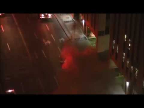 Downtown Calgary underground fire, smoke and the...