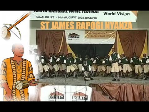 Luo Traditional Song by St Joseph's Rapogi Nyanza at Kenya Music Festival