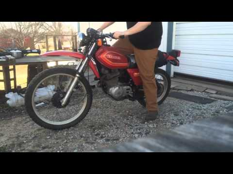 1980 Honda XL500 First Start in forever!!