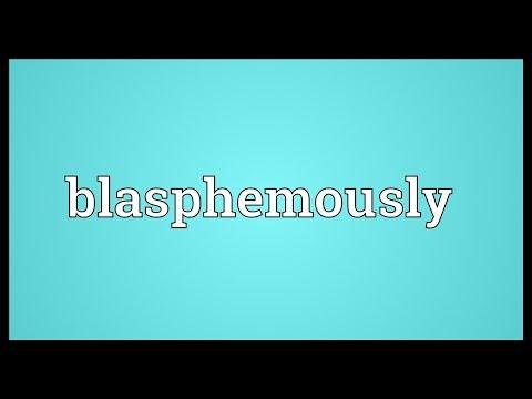 Header of blasphemously