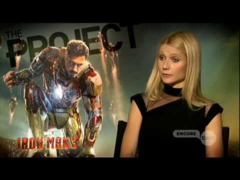 Gwyneth Paltrow interview on The Project (2013) - Iron Man 3