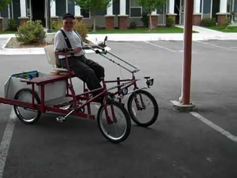 Riding 4 Wheel Bed Frame Bike by Del - BYORB Group Missoula MT