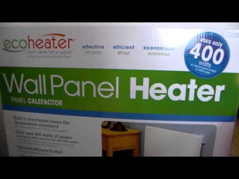 review on eco heater 400 watts. full time rving