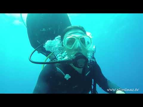 #Vlog 3   Dalış Eğitimi / Learn to Scuba Dive     (Fethiye Aziz Ağa Koyu )