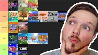 The Legend Of Zelda TIER LIST / RANKING