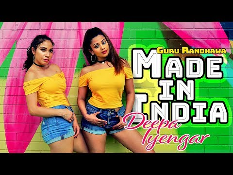 Made in India - Guru Randhawa | Deepa Iyengar Choreography | Bollywood  Hip hop Dance Cover