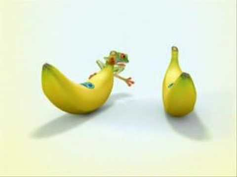 banana frog creativity