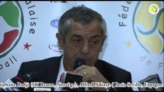 Can 2015 | Alain Giresse dresse la liste des joueurs convoqués pour les matchs Sénégal vs Egypte et