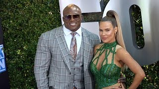 Bobby Lashley and CJ Perry WWE 20th Anniversary Celebration Event Blue Carpet