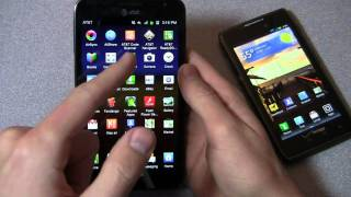 Samsung Galaxy Note vs. Motorola DROID RAZR MAXX Dogfight Part 1