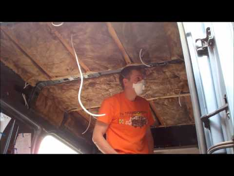 HOW TO CONVERT A CAMPERVAN PART 2 FORD TRANSIT