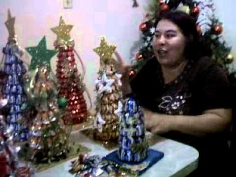 Elabora arbolitos de navidad con caramelos 3gp youtube - Caramelos de navidad ...