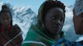 M Baku shows T Challa is alive.Black Panther 720p Bluray