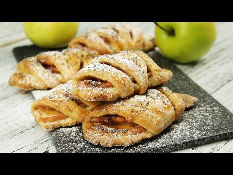 Конвертики с яблоками - Рецепты от Со Вкусом