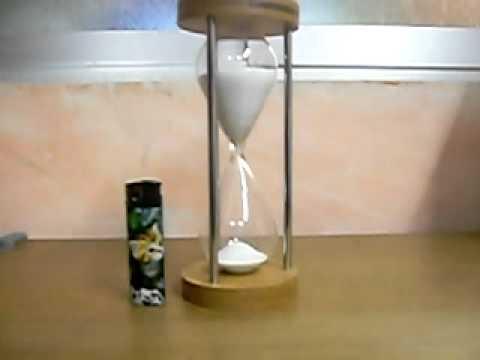 Reloj de arena mov youtube - Relojes rusticos de pared ...