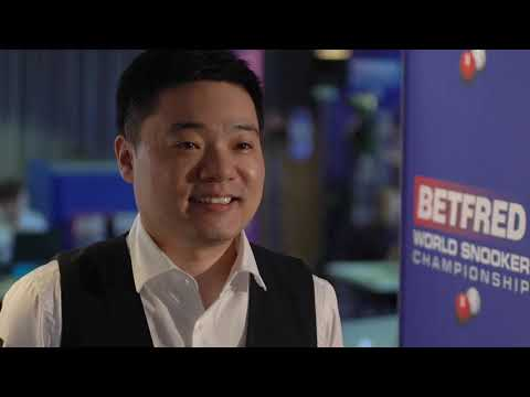 Ding To Face O'Sullivan Or Un Nooh In Betfred World Championship Second Round!