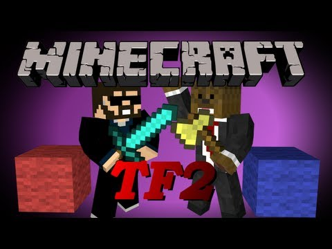 Minecraft Team Fortress 2 MiniGame