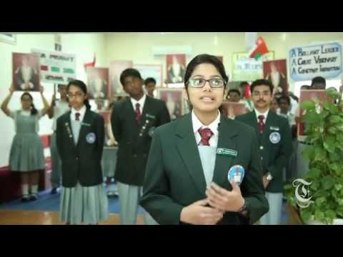 Indian School Al Ghubrah celebrates His Majesty Sultan Qaboos' return to Oman