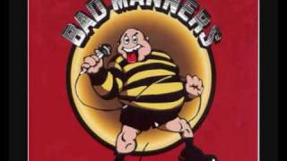 Watch Bad Manners Special Brew video