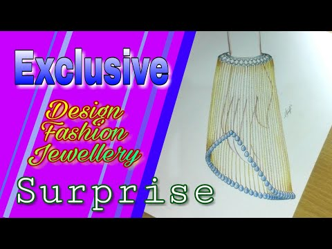Exclusive Design For Fashion Jewelry | Surprise Design Concept | How To Create Easily