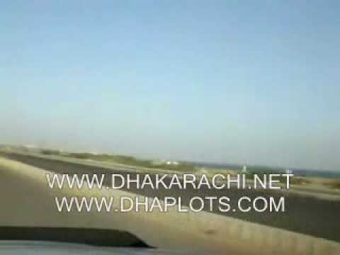 ROUND TRIP OF PHASE 8, DEFENCE , KARACHI, PAKISTAN, REALESTATE ( ON BEACH AVENUE )