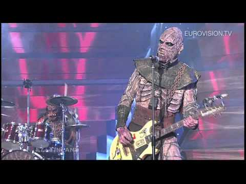 Lordi - Hard Rock Hallelujah (Finland) 2006 Eurovision Song Contest Winner klip izle