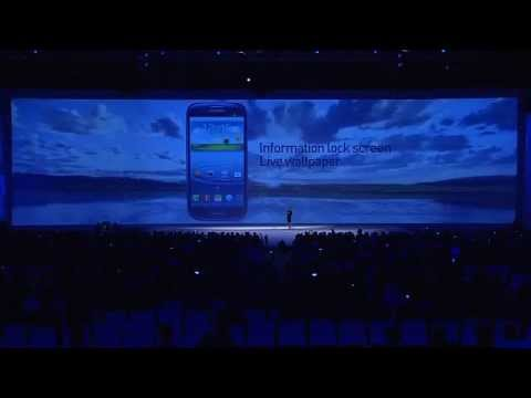 Samsung Unpacked 2012 Livestream