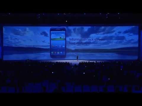 Samsung Unpacked 2012 Livestream