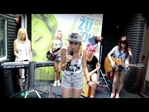 Blaxy Girls - Ma mut la mare (Live @ la Radio ZU, 2013)