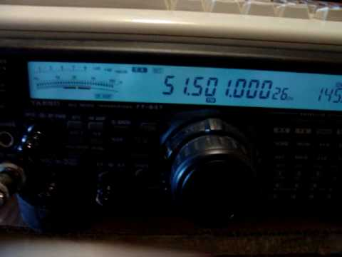 LU5DBK 51.500 FM 4 WATTS CA3SOC HAM RADIO SIX METER FT-847 TRANSVERTER CB CE3RR