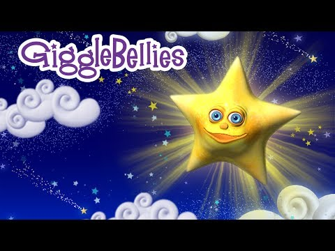 twinkle Twinkle Little Star Lullaby With The Gigglebellies - Nursery Rhyme video