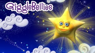 """Twinkle Twinkle Little Star"" Lullaby with The GiggleBellies - Nursery Rhyme"