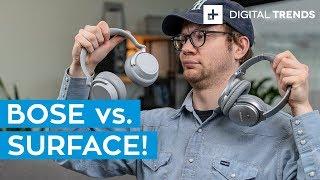 Bose QC 35II vs. Microsoft Surface Headphones