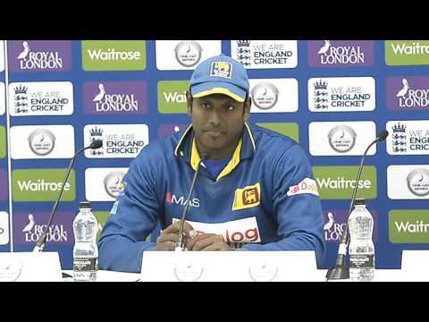 Sri Lanka v England 4th ODI, Post match Press Conference - Angelo Mathews