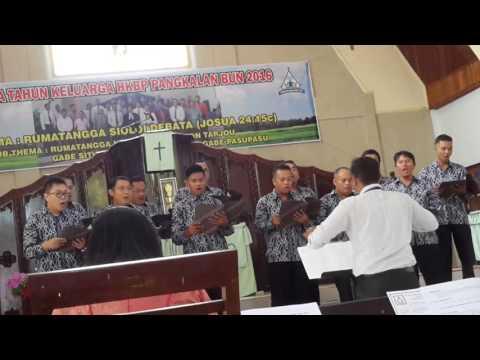 Hatindangkon Kristus I & Rumatangga Halomoan I-Koor Gabungan Ama + Naposo HKBP Sukamara