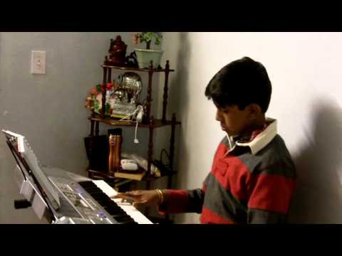 Subhash Ramesh Plays  fur elise on his CASIO KeyBoard