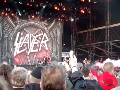 Slayer : Raining Blood (Live At Graspop Metal Meeting 2012).