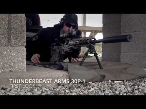 Thunder Beast Arms Corp. 30P-1 Suppressor First Look