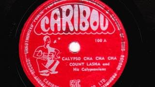 Calypso Cha Cha Cha [10 inch] - Count Lasha and His Calypsonians