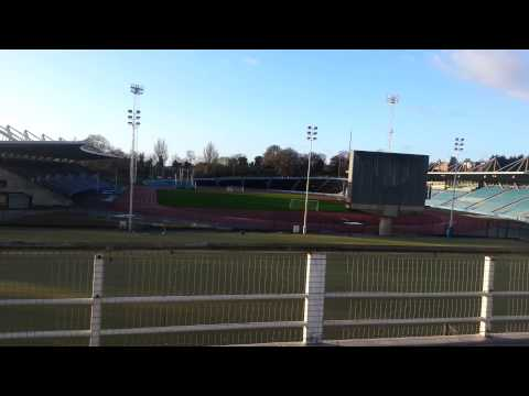 South London run crystal palace athletics stadium