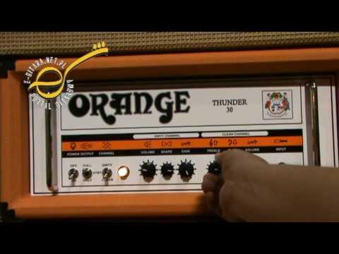 Musikmesse 2010 - Orange Thunder 30 clean channel - demo