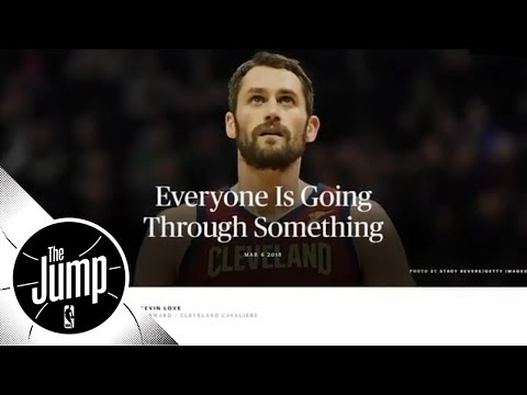 Kevin Love and DeMar DeRozan helping to change stigma around mental health issues   The Jump   ESPN
