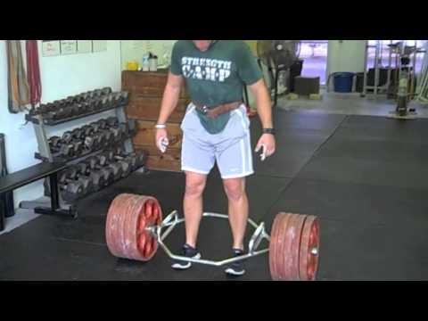 Trap Bar Workout for Football Image 1