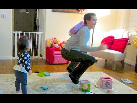 DADDY'S BACK PACK DANCE!! - February 28, 2014 - itsJudysLife Vlog
