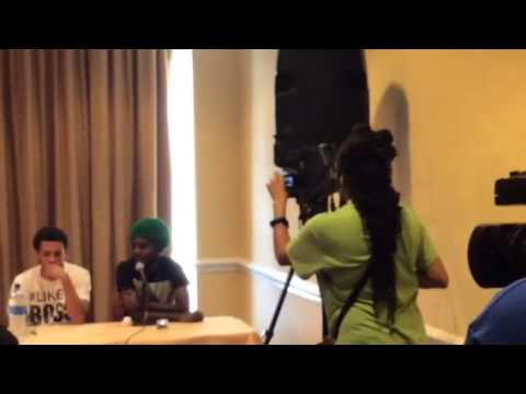 St. Kitts Music Festival Friday Night - Press Conference 2014 - Beenie Man