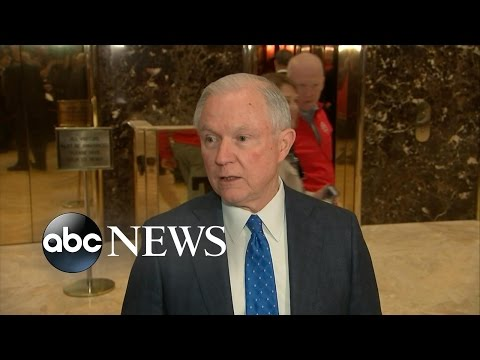 Trump Offers Jeff Sessions Attorney General Position
