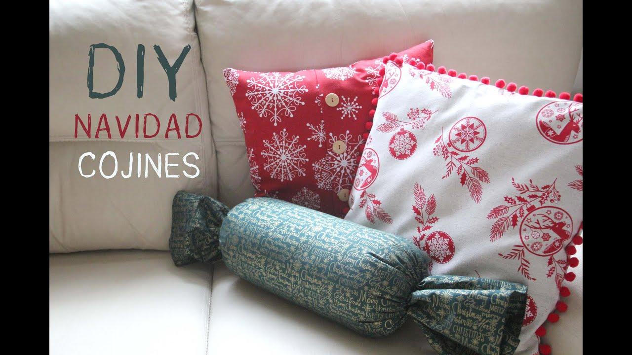 Diy navidad c mo hacer cojines navide os para decorar tu casa youtube - Modelos de cojines decorativos ...
