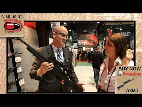 Savage Axis II at SHOT Show 2014